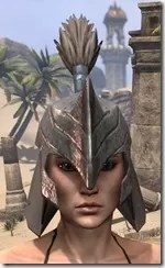 Orc Steel Helm - Female Front