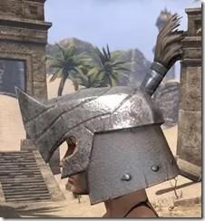 Orc Steel Helm - Female Side