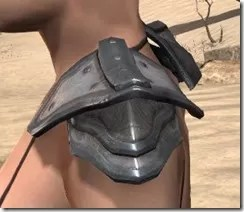 Orc Steel Pauldron - Female Side