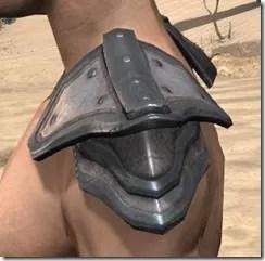 Orc Steel Pauldron - Male Side