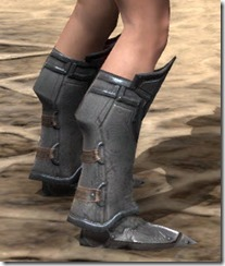 Orc Steel Sabatons - Female Right