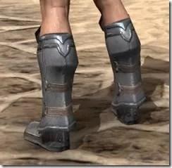 Orc Steel Sabatons - Male Rear