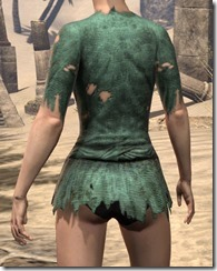 Prisoner Style 1 Shirt - Female Rear