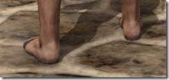 Prisoner's Sandals - Male Rear