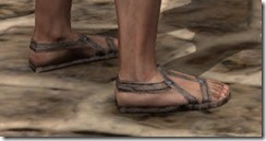 Prisoner's Shoes - Male Right