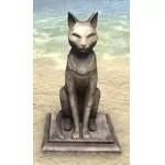 Ra Gada Funerary Statue, Stone Cat