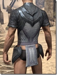 Redguard Iron Cuirass - Male Rear