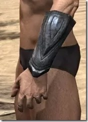 Redguard Iron Gauntlets - Male Side