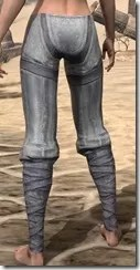 Redguard Iron Greaves - Female Rear