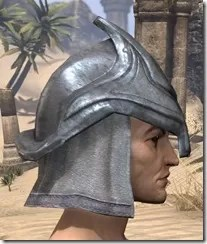 Redguard Iron Helm - Male Right
