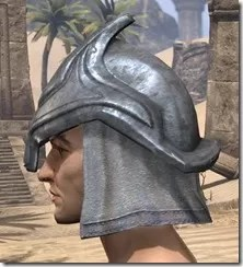 Redguard Iron Helm - Male Side