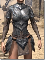 Redguard Steel Cuirass - Female Front