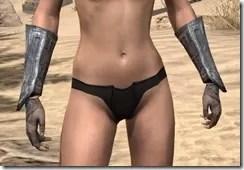 Redguard Steel Gauntlets - Female Front