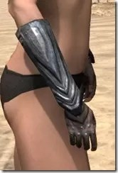 Redguard Steel Gauntlets - Female Right