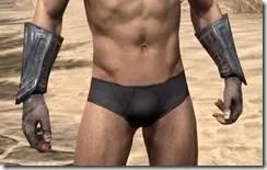 Redguard Steel Gauntlets - Male Front