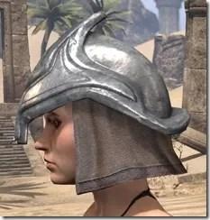 Redguard Steel Helm - Female Side