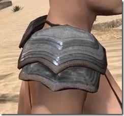 Redguard Steel Pauldron - Female Right