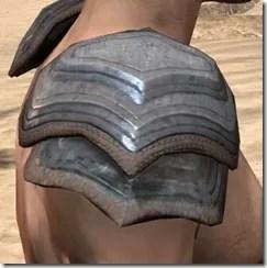 Redguard Steel Pauldron - Male Right
