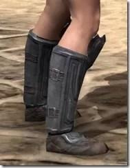 Redguard Steel Sabatons - Female Right