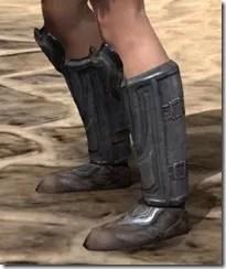 Redguard Steel Sabatons - Female Side