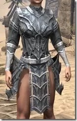 Worm Cult Iron Cuirass - Female Front