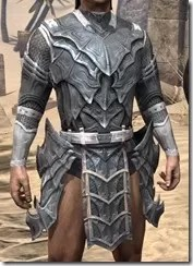 Worm Cult Iron Cuirass - Male Front