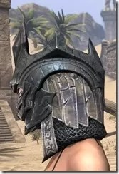 Worm Cult Iron Helm - Female Side