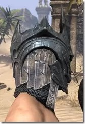 Worm Cult Iron Helm - Male Right