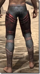 Worm Cult Rubedite Greaves - Male Rear