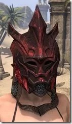 Worm Cult Rubedite Helm - Female Front