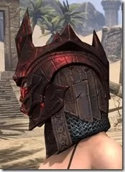 Worm Cult Rubedite Helm - Female Side