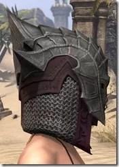 Worm Cult Rubedo Leather Helmet - Female Right