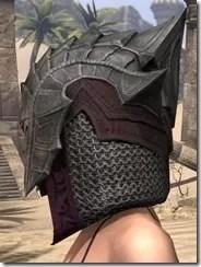 Worm Cult Rubedo Leather Helmet - Female Side