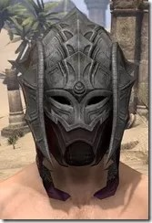 Worm Cult Rubedo Leather Helmet - Male Front