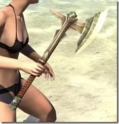 Ancient Elf Dwarven Axe 2