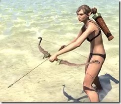 Ancient Elf Hickory Bow 2