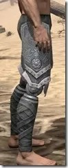 Apostle Iron Greaves - Male Right