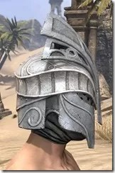 Apostle Iron Helm - Male Right