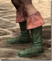 Cuffed Boots - Dyed Side