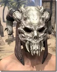 Daedric Death Mask - Male Front