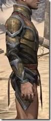 Dark Elf Dwarven Cuirass - Male Right