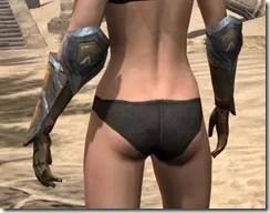 Dark Elf Dwarven Gauntlets - Female Rear