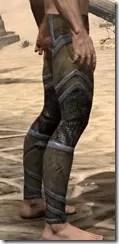 Dark Elf Dwarven Greaves - Male Right