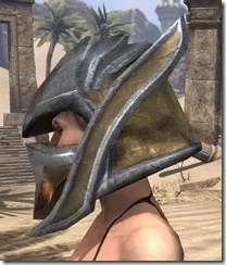 Dark Elf Dwarven Helm - Female Side