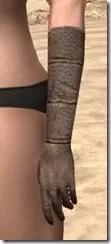 Dark Elf Homespun Gloves - Female Side