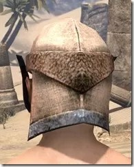 Dark Elf Homespun Hat - Male Rear