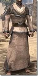 Dark Elf Homespun Robe - Male Front