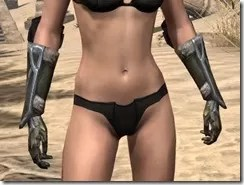 Dark Elf Orichalc Gauntlets - Female Front