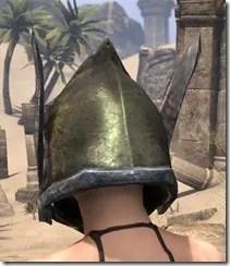 Dark Elf Orichalc Helm - Female Rear