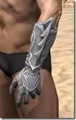 Ebonshadow Iron Gauntlets - Male Side